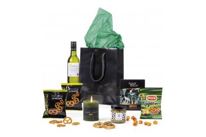 Kerstpakket Black shopper
