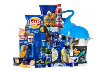 Kerstpakket: Blue for you