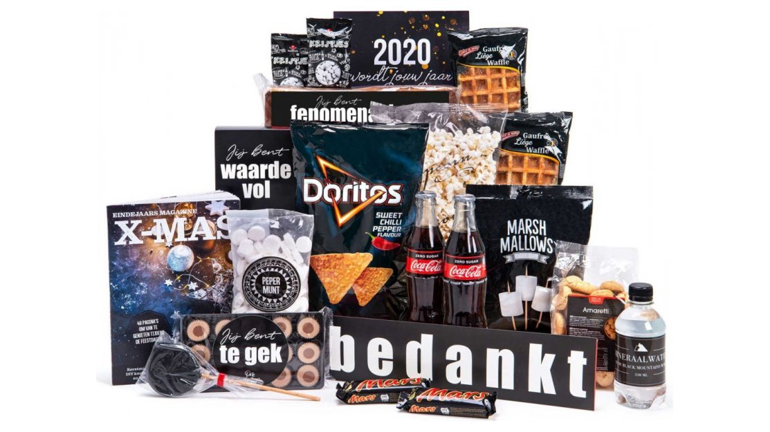 Kerstpakket: Fenomenale food