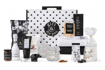 Kerstpakket Gift for you black & White