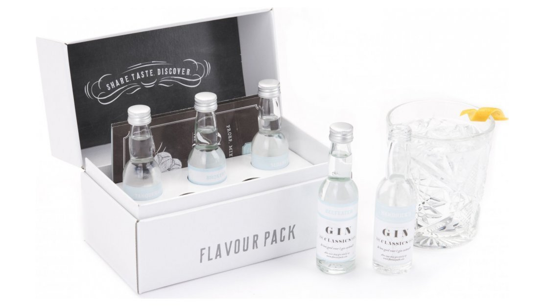 Kerstpakket: Gin the classics flavour pack