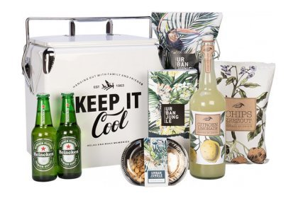 Kerstpakket Retro Cooler White