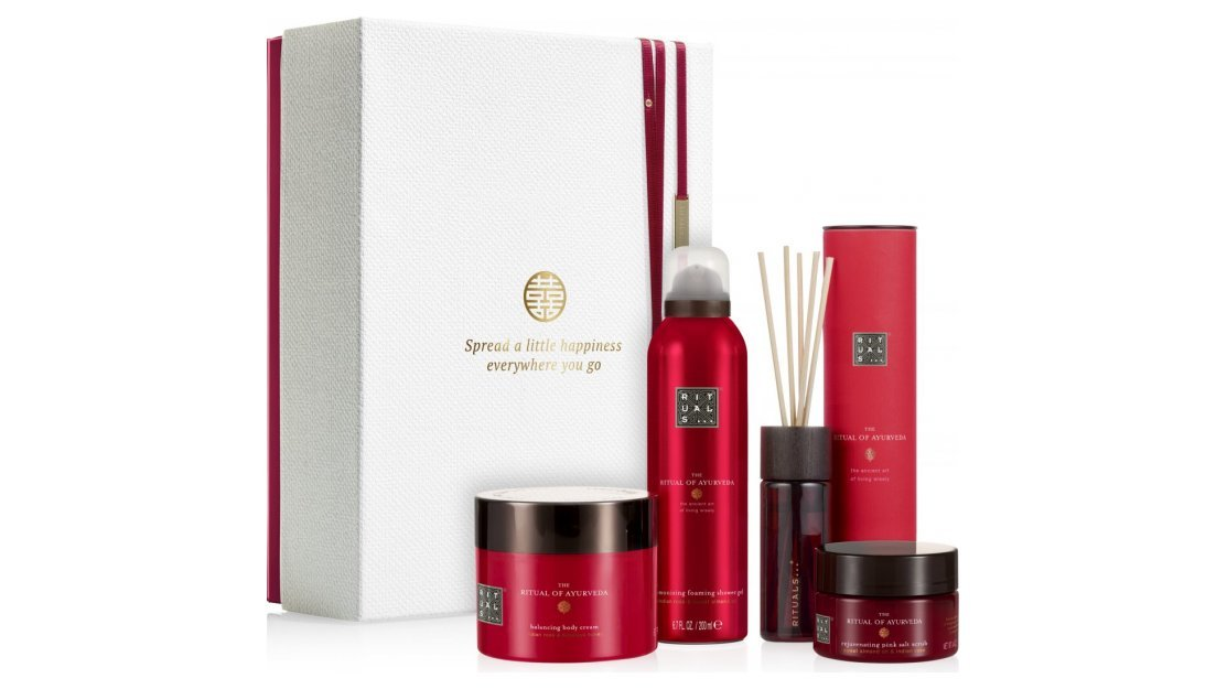 Kerstpakket: Rituals Ayurveda - Rebalancing Collection