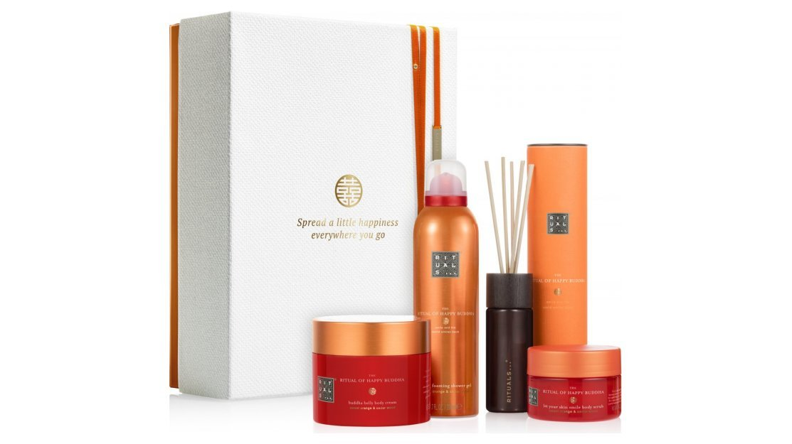 Kerstpakket: Rituals Happy Buddha - Energising Collection