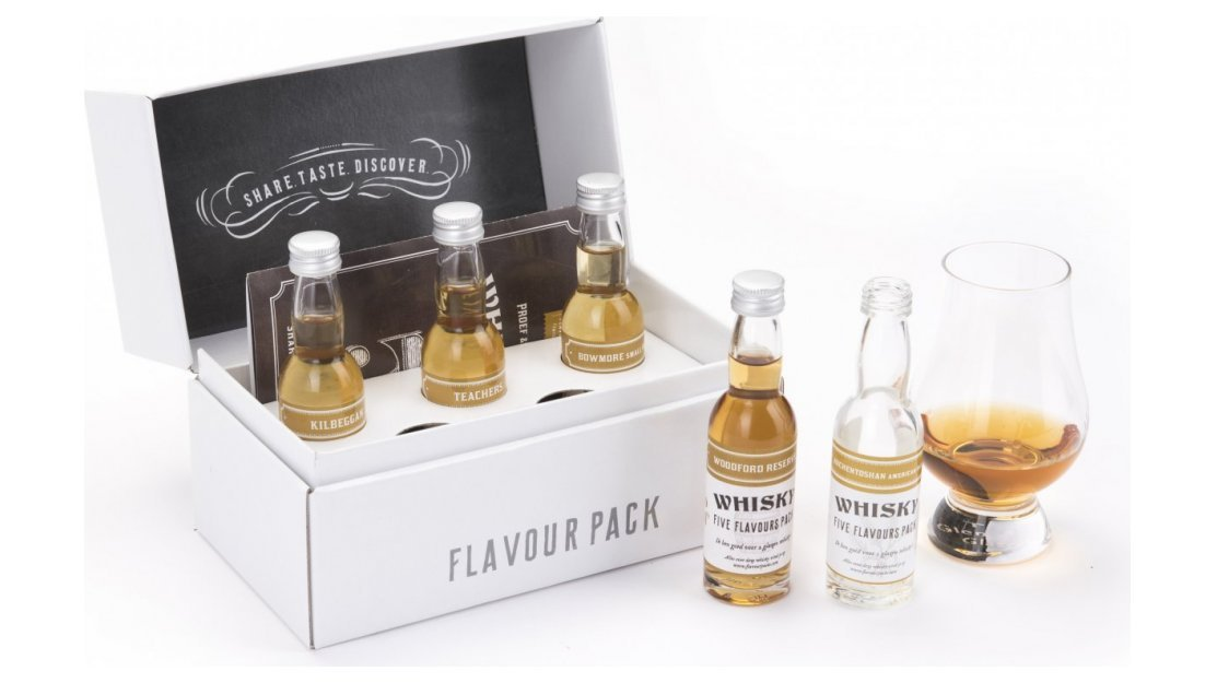 Kerstpakket: Whiskey five flavours pack