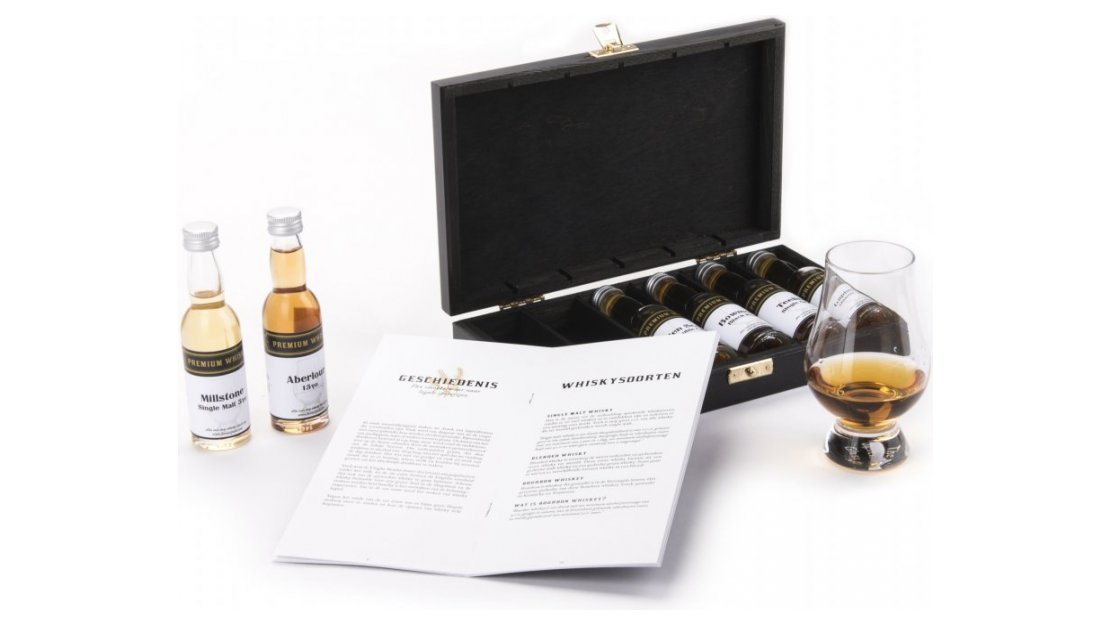 Kerstpakket: Whisky chest luxe 6
