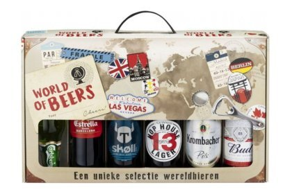 Kerstpakket World of beers biergeschenk